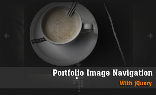 Create a Portfolio Image Navigation with jQuery-PortFolioNav