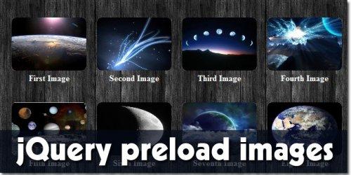 jQuery perload images plugin-jQueryPreload