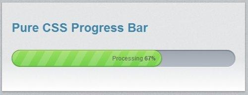 Barra de progreso Css-ProgressBar