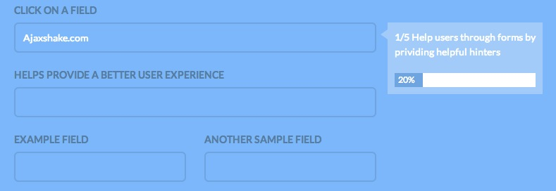 jQuery Plugin to keep the progress of your forms - progression