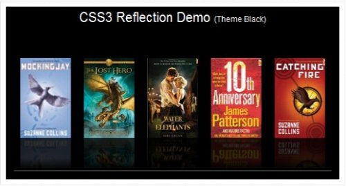 Image Reflection with  CSS3 - CSS3Reflection