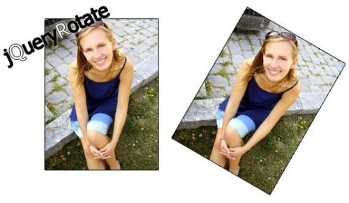 Rotate images with jQuery - jQueryRotate