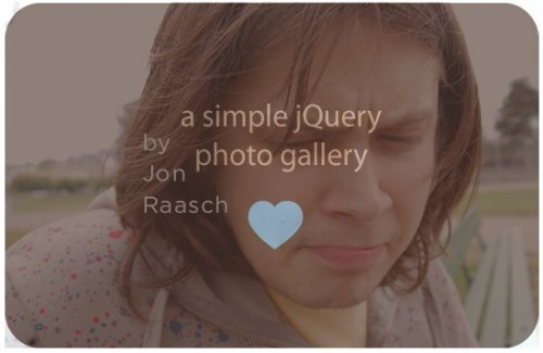 Simple pasador de fotos jquery-jQuerySlidesShow