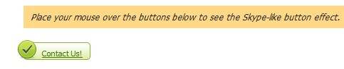 Skype-Style Buttons Using MooTools - SkypeButtons