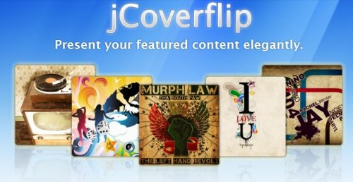 jQuery UI carousel-jcoverflip