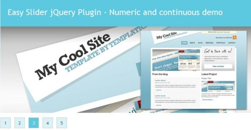 Numeric Navigation Jquery Slider With Javascript And Jquery