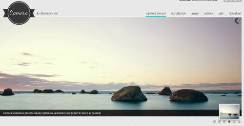 jQuery Camera slideshow Plugin - camera
