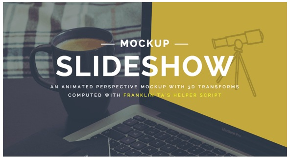 Perspective Mokup Slideshow - Slider