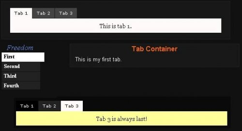 Add tabs with jquery to your site in a very easy way - idTabs