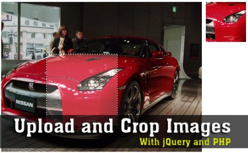 Upload and crop images with jQuery and PHP - Crop