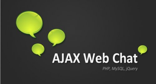jQuery and PHP Ajax Web Chat - AjaxChat