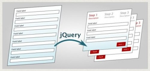 Turn any webform into a wizard with jQuery - WebFormToWizard