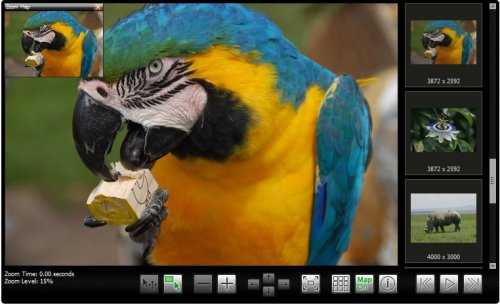 Image zoom and pan gallery plugin based on jQuery and PHP - AJAX-ZOOM