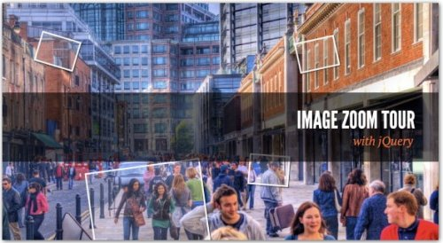 Create an amazing image Zoom Tour with jQuery - ImageTour